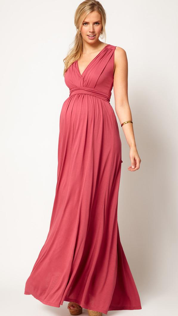 Long Prom Maternity Dresses