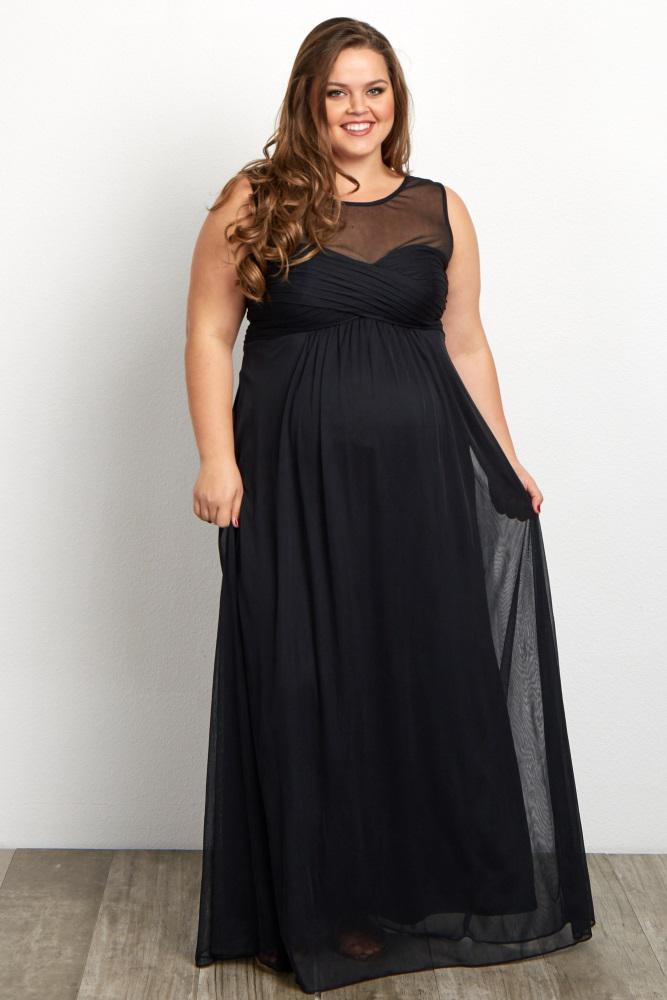Plus Size Maternity Prom Dresses